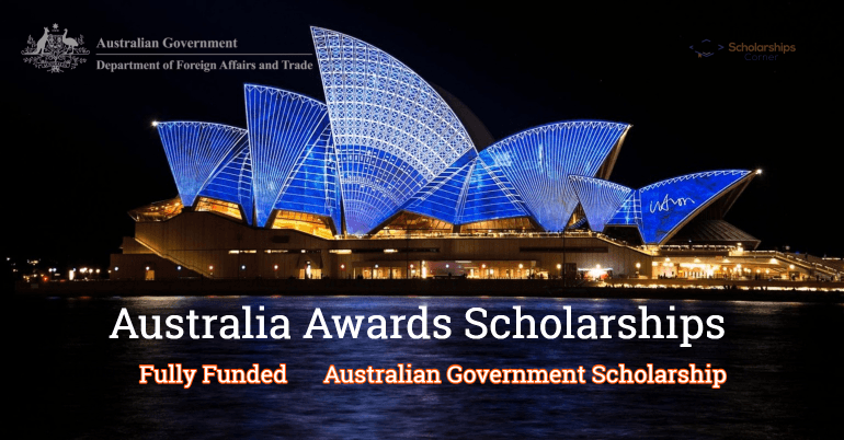 Australia Awards Scholarships 2020-2021 [Fully Scholarship]