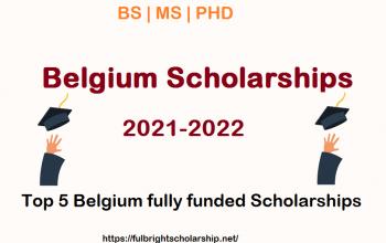 Belgium Scholarships 2021-2022