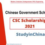CSC Scholarship 2021-2022 – Chinese Government Scholarships Opening Date: December 1, 2020 Deadline: April 30, 2021 Category: Fully Funded Scholarships Course Level: Masters, Graduate, Undergraduate, PhD, Engineering #Chinese_Government_Scholarships_2021_2022 #Phd_Scholarships #undergraduate #graduate #Scholarships_for_international_students #Scholarships_in_China #List_of_chinese_Scholarships #CSC_Scholarships_in_Canada https://fulbrightscholarship.net/csc-scholarship-2021-2022-chinese-government-scholarships/