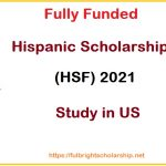 Hispanic Scholarship Fund 2021-2022 (HSF)