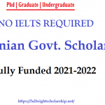 Romanian Government Scholarship Fully Funded 2021-2022