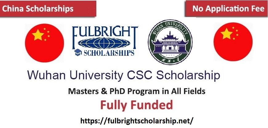 Wuhan University Scholarship (Chinese government scholarships 2021)
