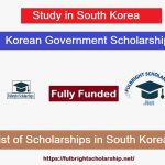 (KGSP) Korean Government Scholarship Program