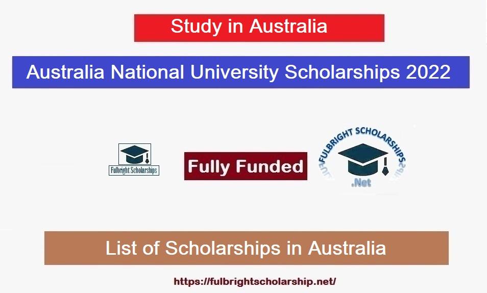 ANU Scholarships
