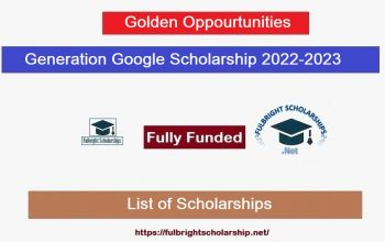 Generation Google Scholarship