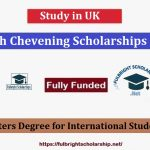 British Chevening Scholarships UK