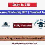 Knight Hennessy Scholarship 2022