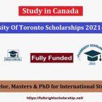 University Of Toronto Scholarships
