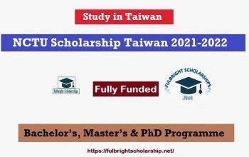 NCTU Scholarship 2021